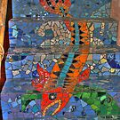 fish on staircase by tanmari