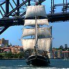Tall Ship in Sydney Harbour by Bob Culshaw