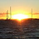Sunset On The Bay by Lisa Williams