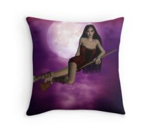 just flying by Throw Pillow