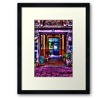 Old Restaurant Fine Art Print Framed Print