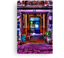 Old Restaurant Fine Art Print Canvas Print