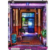 Old Restaurant Fine Art Print iPad Case/Skin