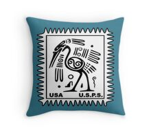 13 cent postage stamp issued by the USPS! Throw Pillow