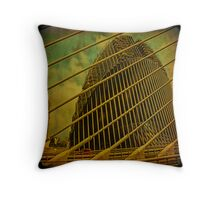 Babel Tower... in Valencia.   Throw Pillow