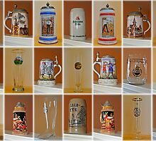 Beer Steins and Glasses by mrthink