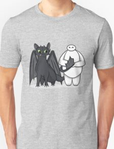 Toothless & Baymax Unisex T-Shirt