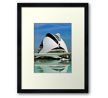 Palace of Arts, Opera of Valencia, Spain Framed Print