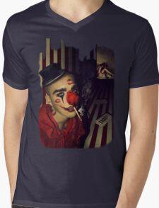 Circus kiss Mens V-Neck T-Shirt