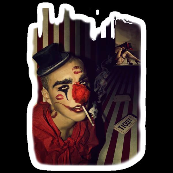 Circus kiss by ELart
