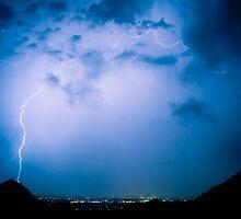 Lightning Rainbow Blues by Bo Insogna
