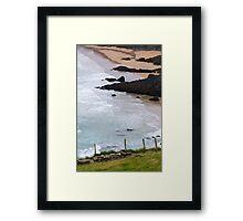 Achill Island beach, Ireland Framed Print