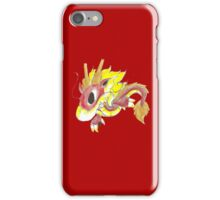 Playful Fire Hatchling iPhone Case/Skin