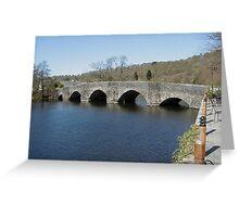Newby Bridge, Cumbria Greeting Card