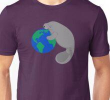 Earth Day Manatee Unisex T-Shirt