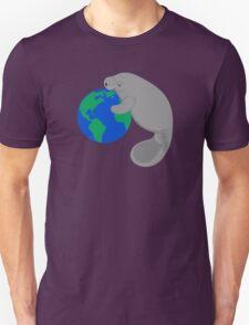 Earth Day Manatee T-Shirt
