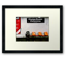 Living in the Grand Palais Framed Print