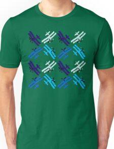 Blue Planes Unisex T-Shirt