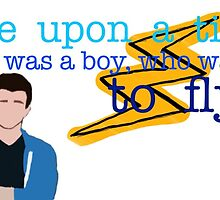 There was a boy who wanted to fly! by Lottie Smith