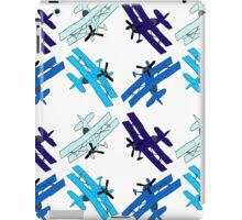 Blue Planes iPad Case/Skin