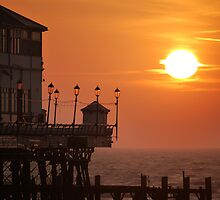 Eastbourne Pier in January by SAngell