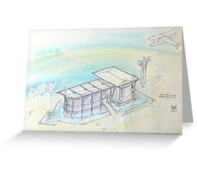 Quinta da Fonte Oeiras Office Park Project Greeting Card