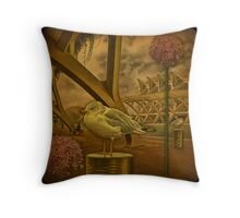 Attached to the Art... or flights in dream and reality. Throw Pillow