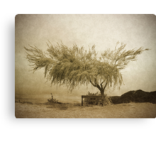 A Sky the Colour of Memory Canvas Print