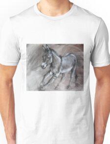 Running donkey Unisex T-Shirt