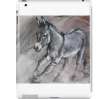 Running donkey iPad Case/Skin