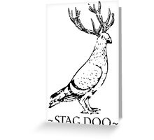 STAG DOO Greeting Card