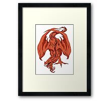Red Dragon Framed Print