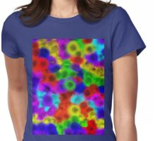 Psychedelic Fur Pattern Texture Womens Fitted T-Shirt