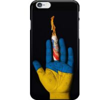 Ukraine: Fate is in your hand. iPhone Case/Skin