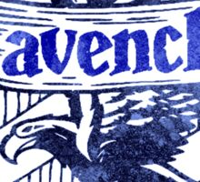 Harry Potter- Ravenclaw grunge shirt Sticker