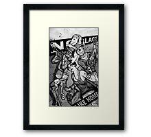 Swingin OZ Framed Print