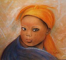 Grace, Pastel painting by Esperanza Gallego