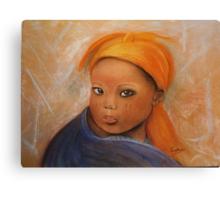 Grace, Pastel painting Canvas Print