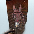 Mule on Feather by Charles Sims