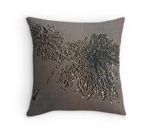 Sand Crab Art Throw Pillow
