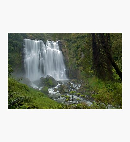 Marokopa falls, Waikato, New Zealand Photographic Print