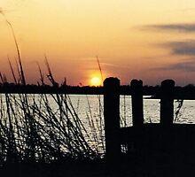 Twilight at the Dock by Janet Ellen Lusk