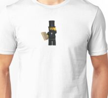 LEGO Abraham Lincoln with Declaration of Independence  Unisex T-Shirt