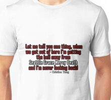 Cristina Yang Seattle Grace Mercy Death Unisex T-Shirt