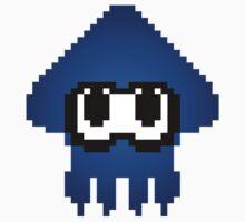 Pixel Squid - Blue Kids Clothes