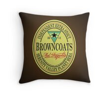 Browncoats Independent Extra Stout Throw Pillow