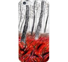 Red Forest iPhone Case/Skin