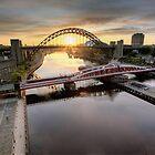 Sunrise on the Tyne by Richard Shepherd