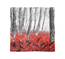 Red Forest Scarf