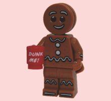 LEGO Gingerbread Man with Dunk Me Mug One Piece - Short Sleeve
